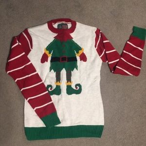 Sweaters - Ugly Christmas Sweater Small ELF holiday